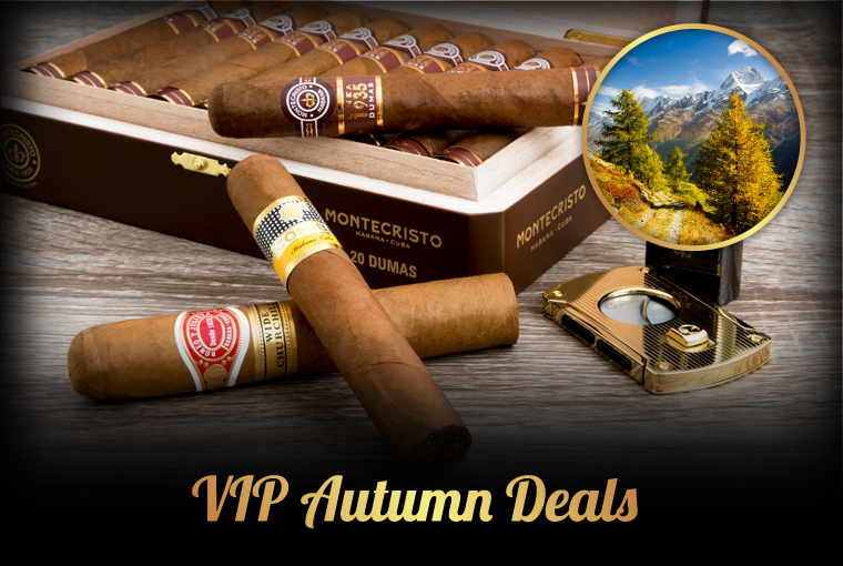 Cuban Cigars and Cigar Accessories from VIPcigars com