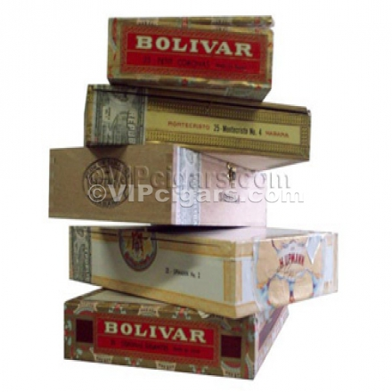 Other Empty Cuban Cigar Boxes